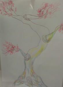 rose blossom tree